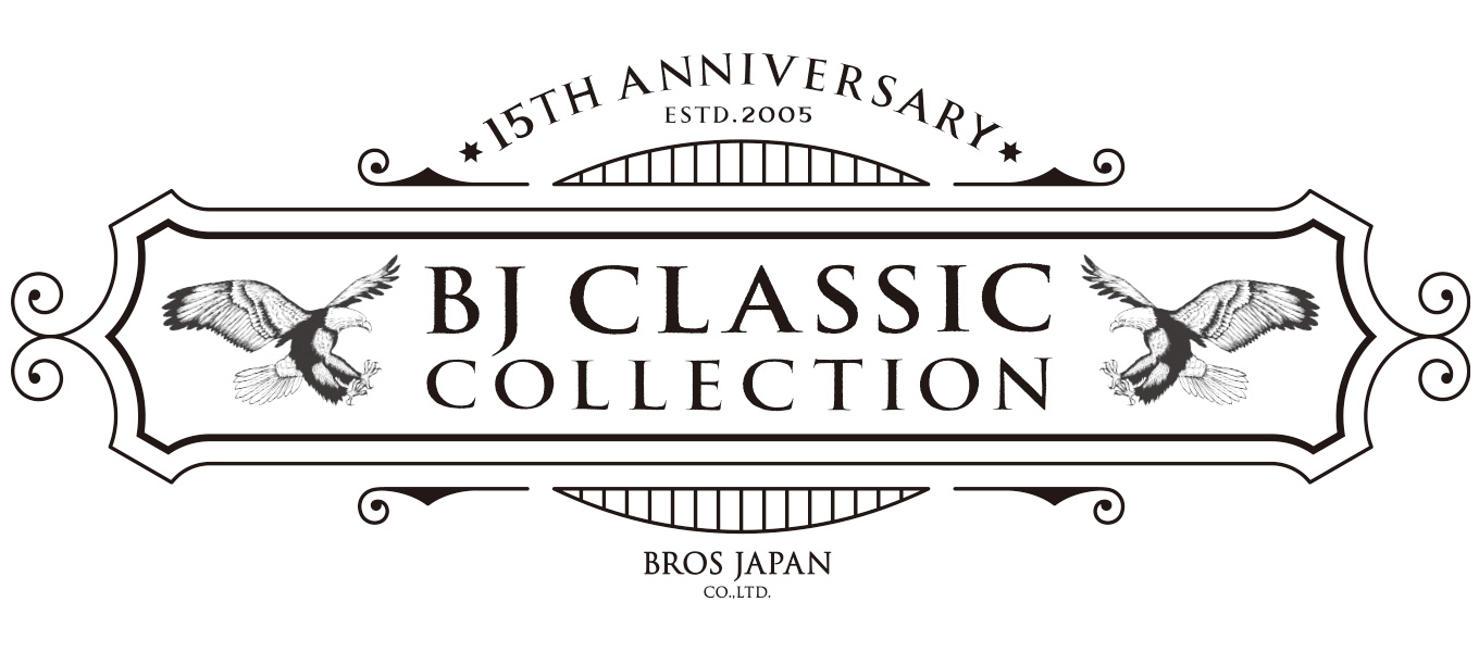 BJ CLASSIC COLLECTION 15周年ロゴ