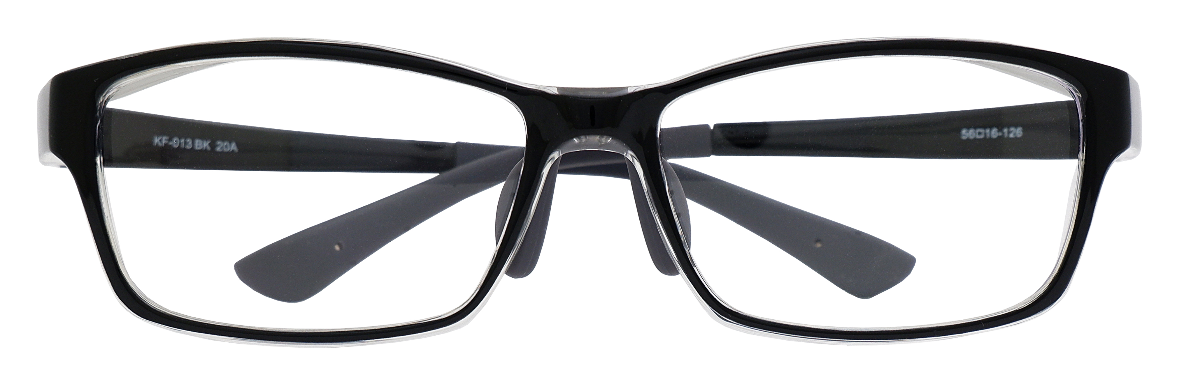 飛沫対策メガネ 花粉グラス 安い パリミキ KF-013 フロント