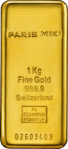 PARIS MIKI GOLD BAR 1kg