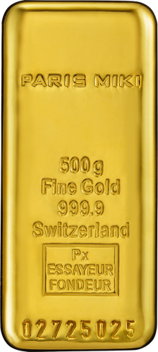 PARIS MIKI GOLD BAR 500g